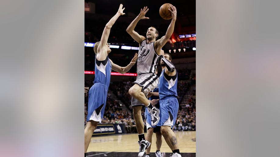 42c8f12b-Timberwolves Spurs Basketball