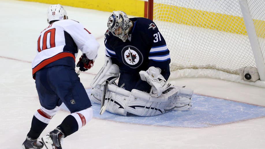 Capitals Jets Hockey