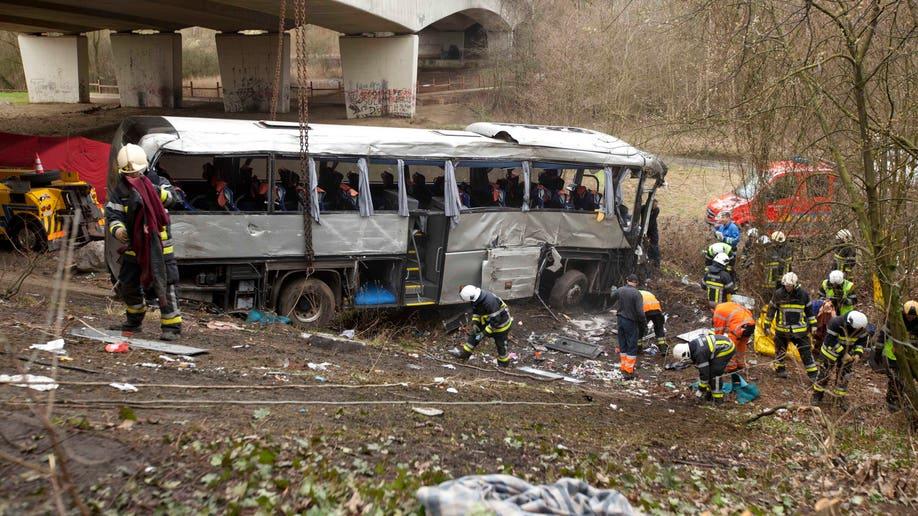 Belgium Bus Crash