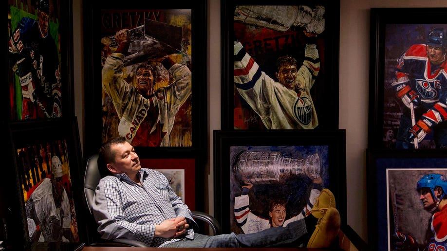 Gretzky Auction Hockey