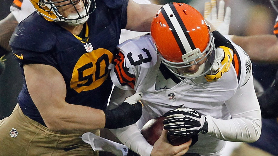 APTOPIX Browns Packers Football