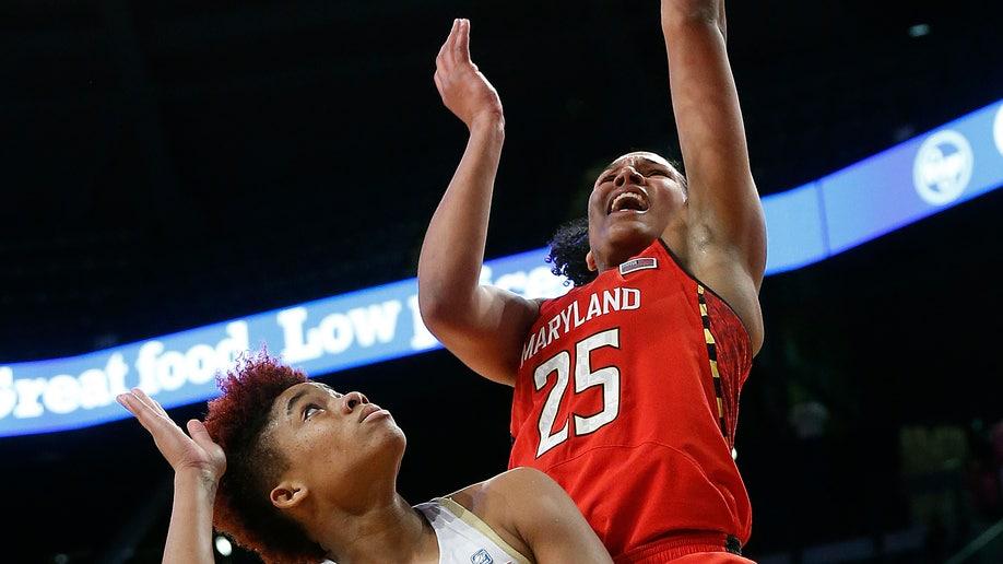 Maryland Georgia Tech Basketball