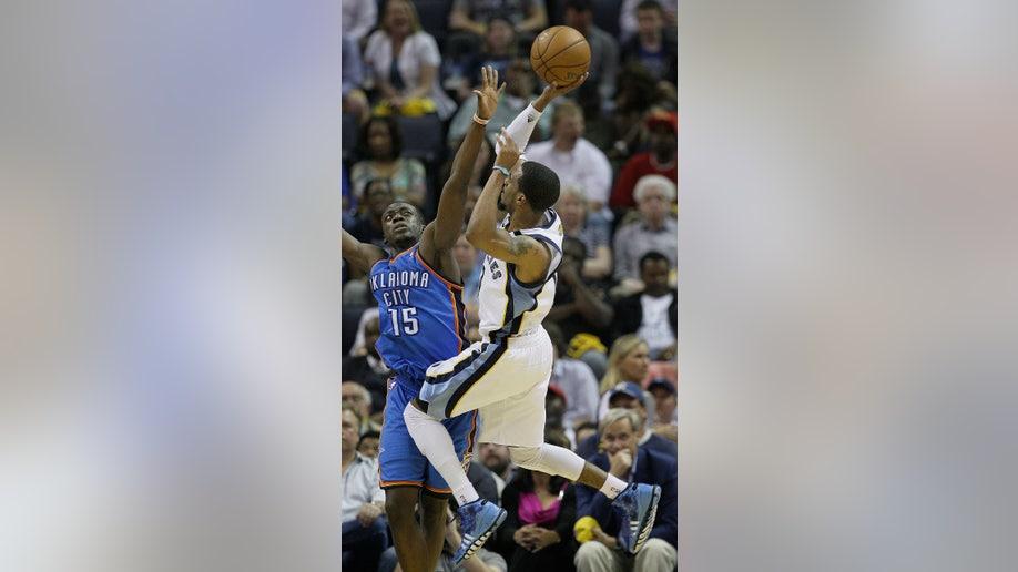 17154738-Thunder Grizzlies Basketball