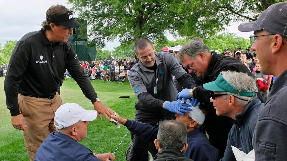 APTOPIX Wells Fargo Championship Golf