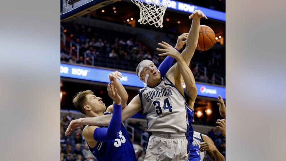 Seton Hall Georgetown Basketball