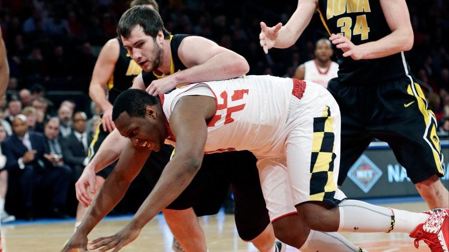 NIT Iowa Maryland Basketball