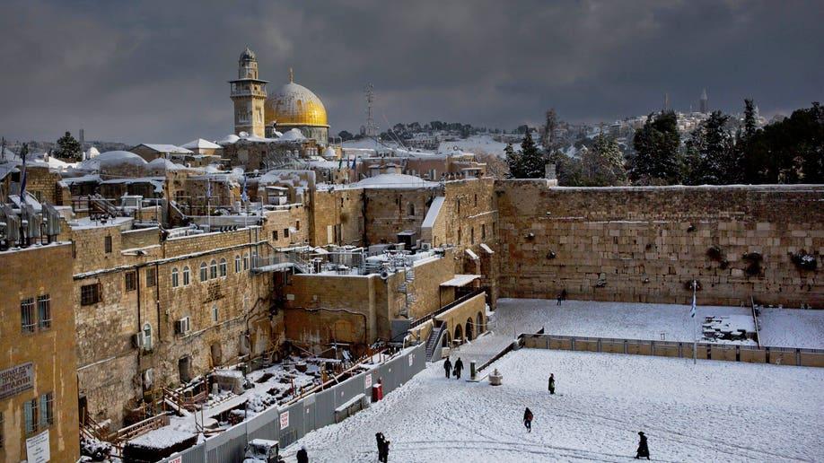 APTOPIX Mideast Israel Palestinians Weather