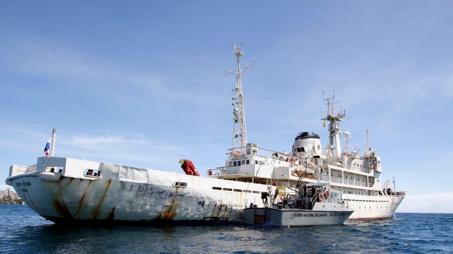 9802250b-Venezuela Guyana Ship Detained