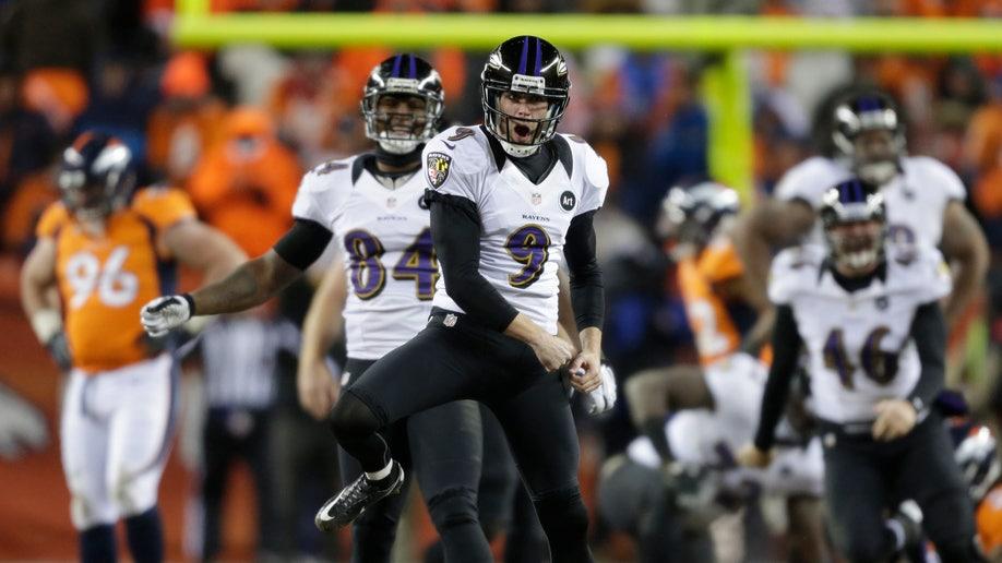 37079223-APTOPIX Ravens Broncos Football
