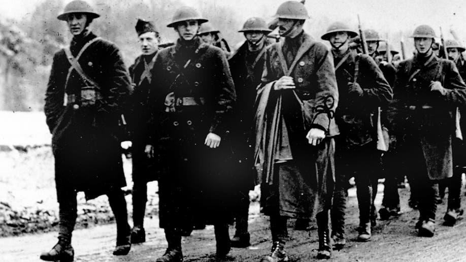 WWI U.S. SOLDIERS