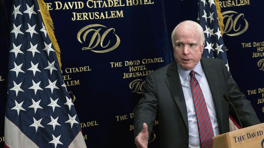 Mideast Israel McCain