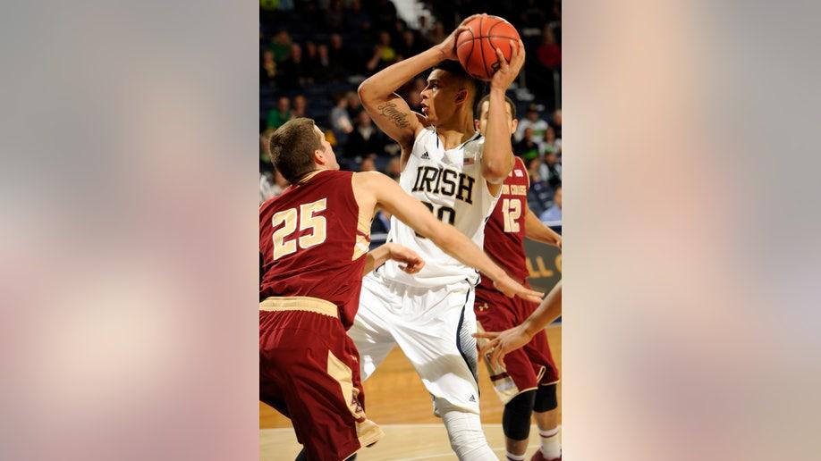 Boston College Notre Dame Basketball