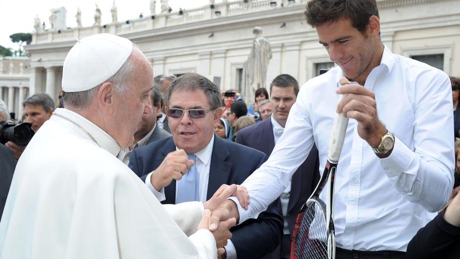 Vatican Pope Tennis