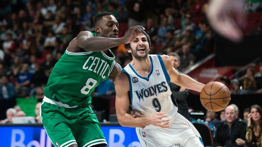 Timberwolves Celtics Basketball