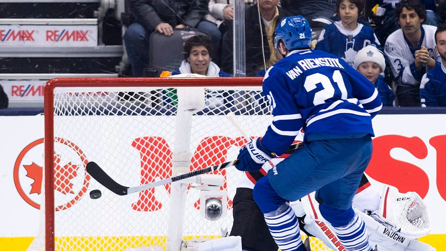 Devils Maple Leafs Hockey