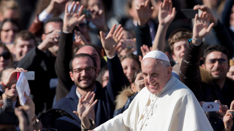 Vatican Pope Valentine's Day
