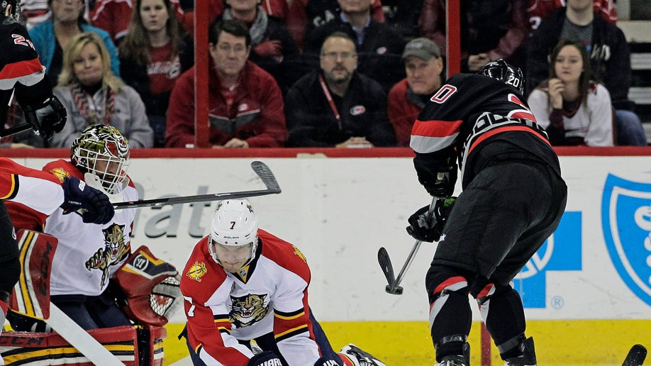 Panthers Hurricanes Hockey