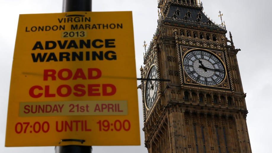 Britain Reax Boston Marathon