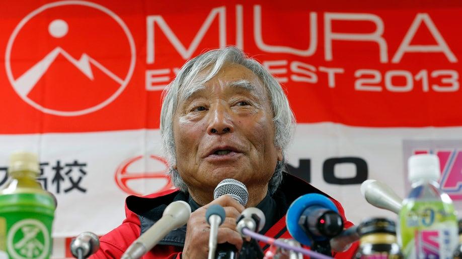 Japan Nepal Everest Octogenarian