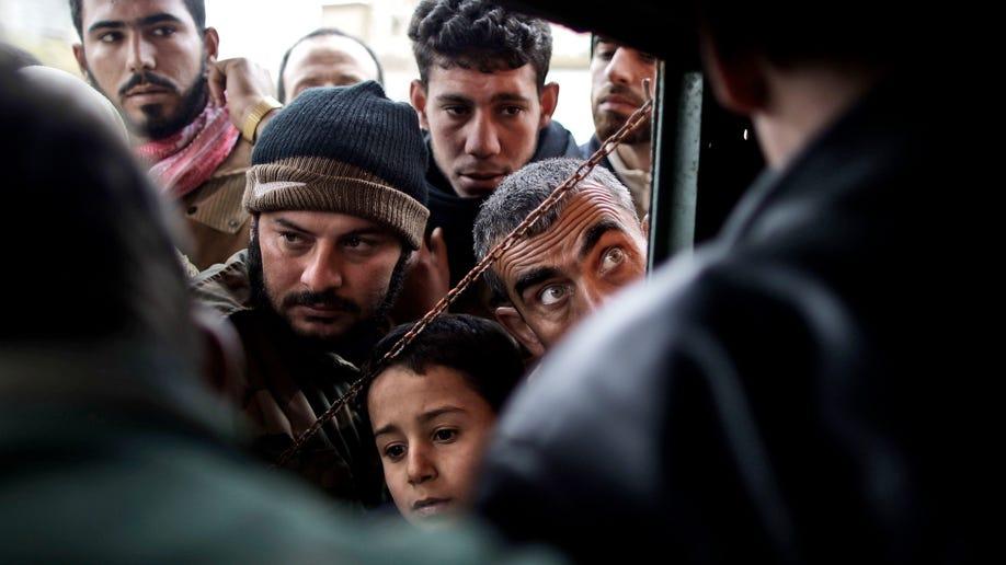 APTOPIX Mideast Syria Rebel Town