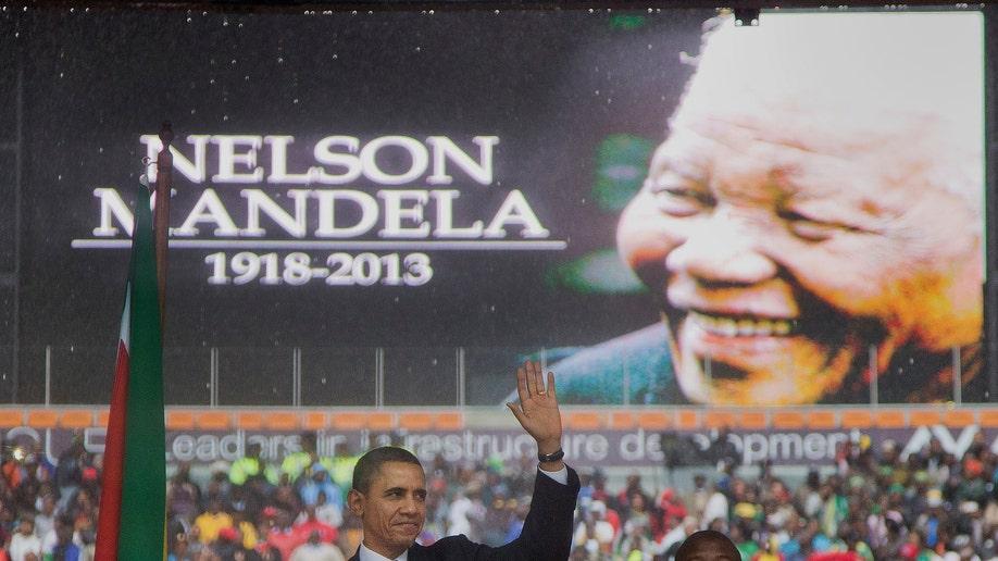 South Africa Mandela Interprter
