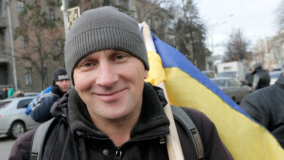 Ukraine Protest People