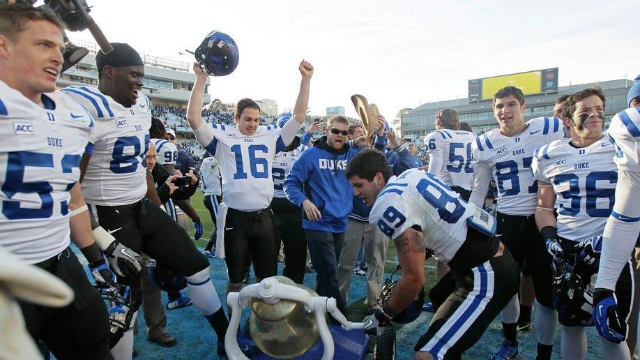 APTOPIX Duke N Carolina Football