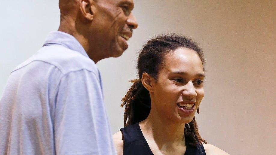 Kareem And Brittney Basketball