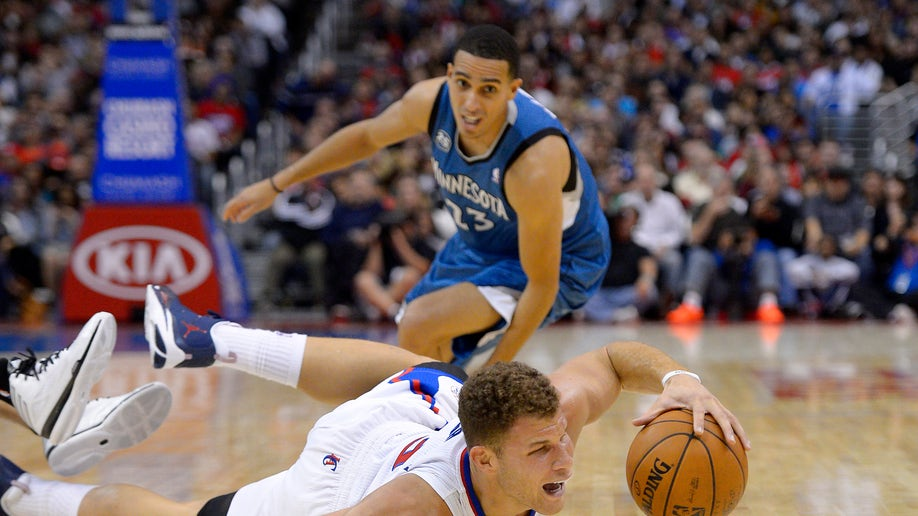 3afae602-Timberwolves Clippers Basketball