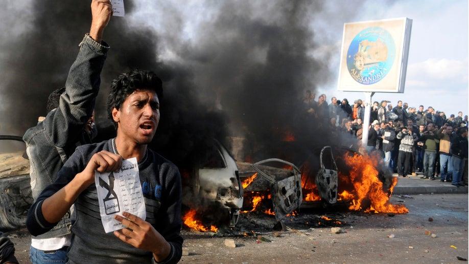 Mideast Egypt Battle For Alexandria