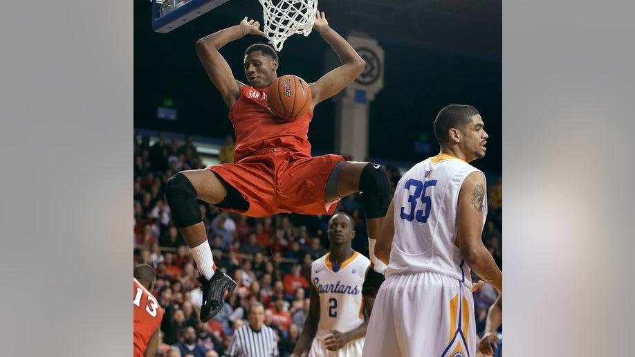 San Diego St San Jose St Basketball