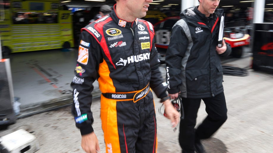 NASCAR Kenseth Engine Issue Auto Racing