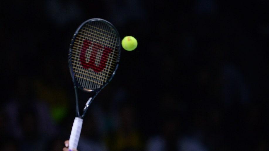 APTOPIX Turkey Tennis WTA Championship