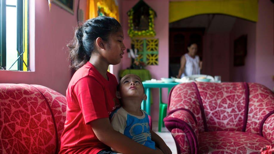 Philippines Typhoon Orphans
