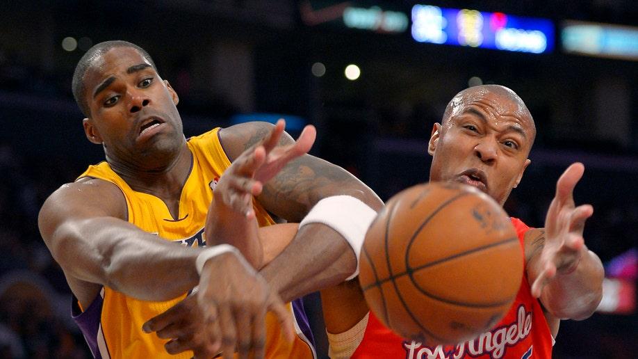 APTOPIX Clippers Lakers Basketball