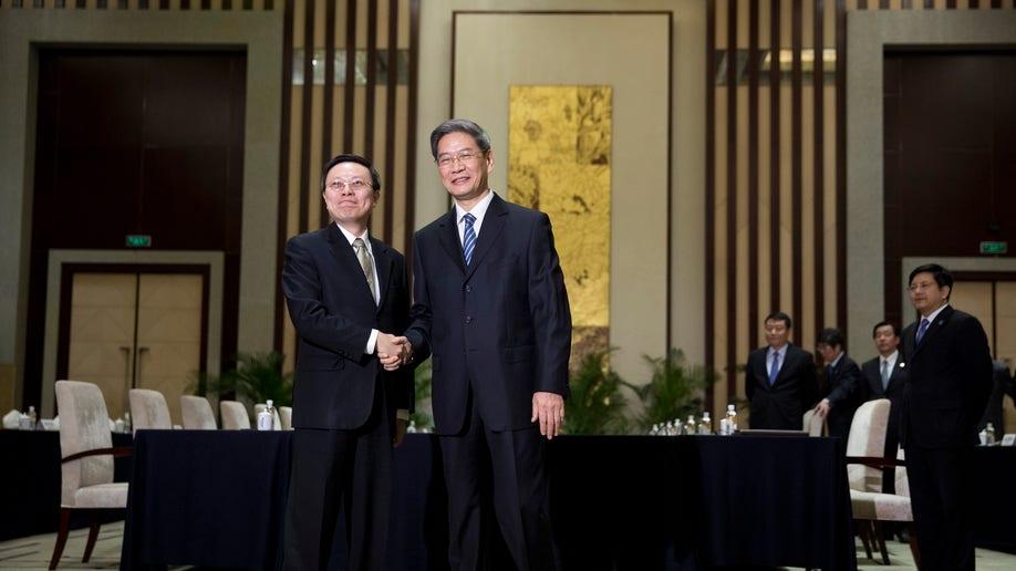 China Taiwan Talks