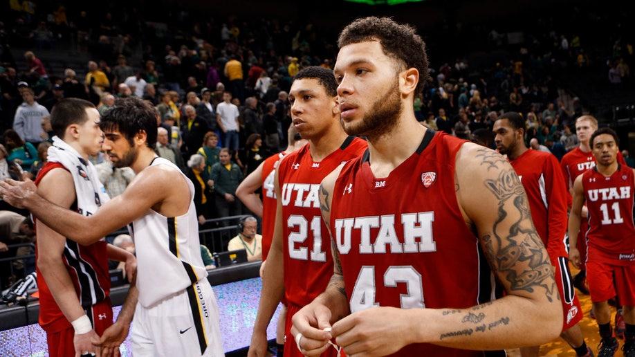 Utah Oregon Basketball