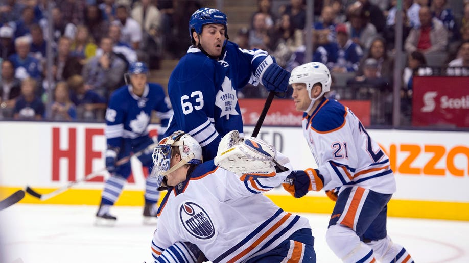 Oilers Leafs Hockey