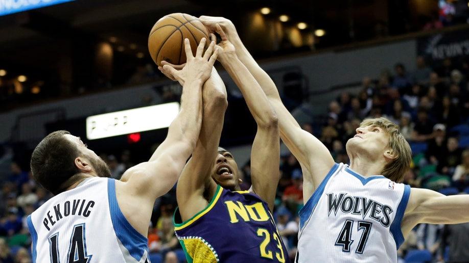 07a1227f-Hornets Timberwolves Basketball