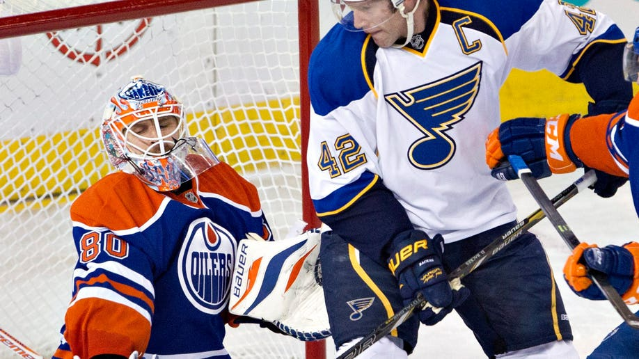 Blues Oilers Hockey