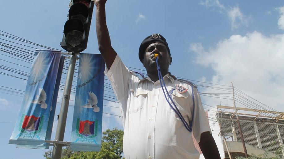 Somalia Traffic Cops