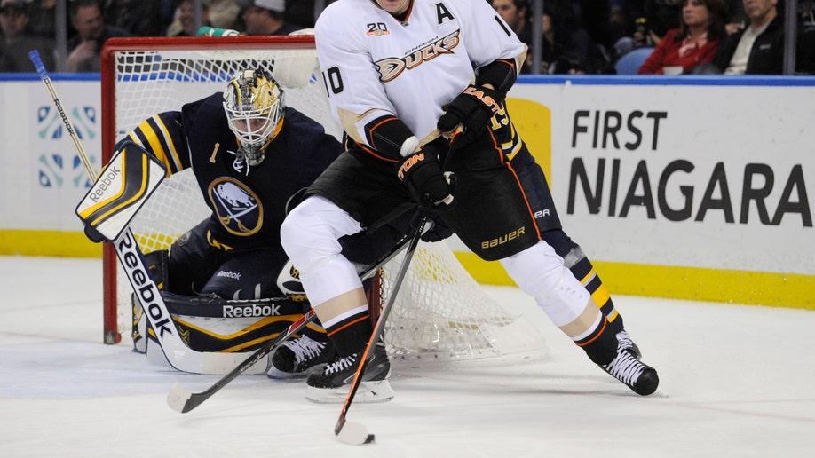 Ducks Sabres Hockey