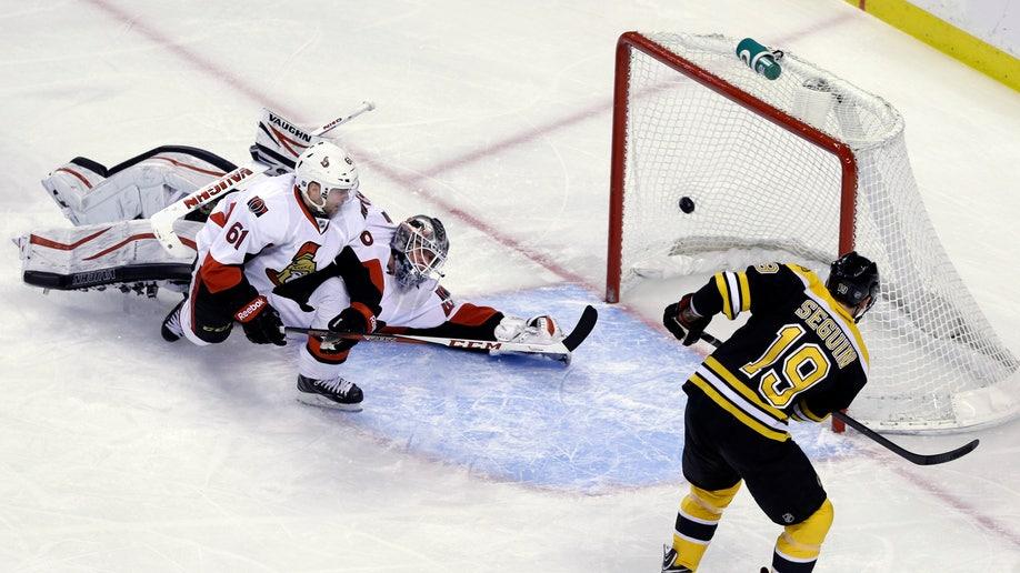 Senators Bruins Hockey