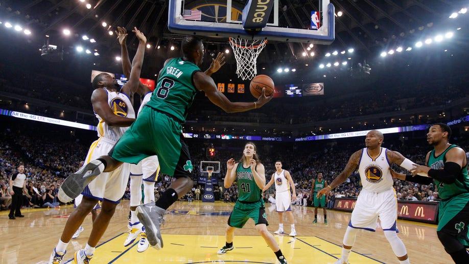 Celtics Warriors Basketball