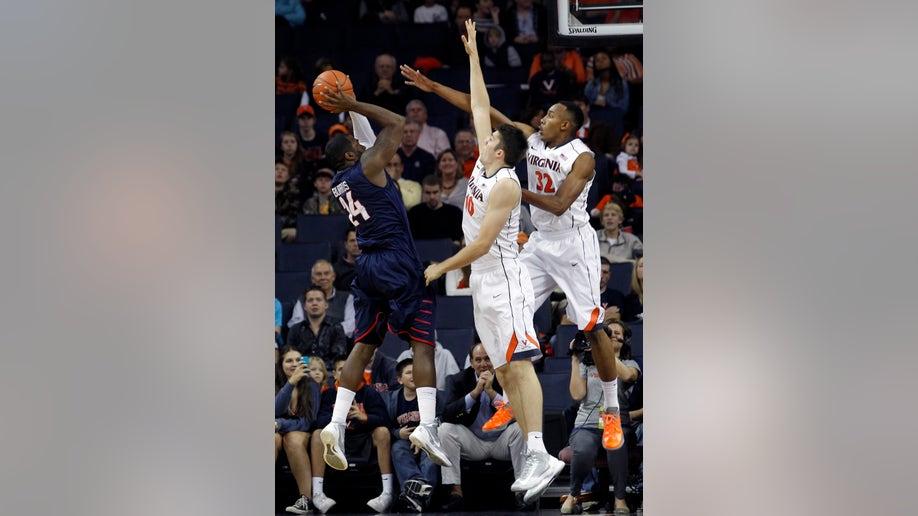 APTOPIX Liberty Virginia Basketball