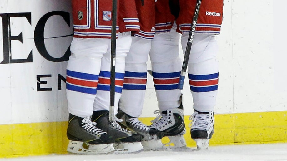 Rangers Lightning Hockey