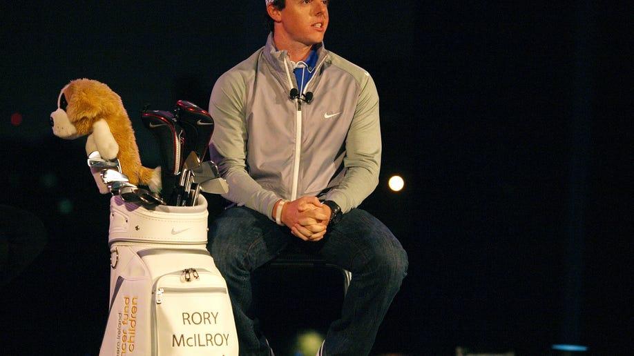 Mideast Emirates Rory McIlroy Nike Partnership