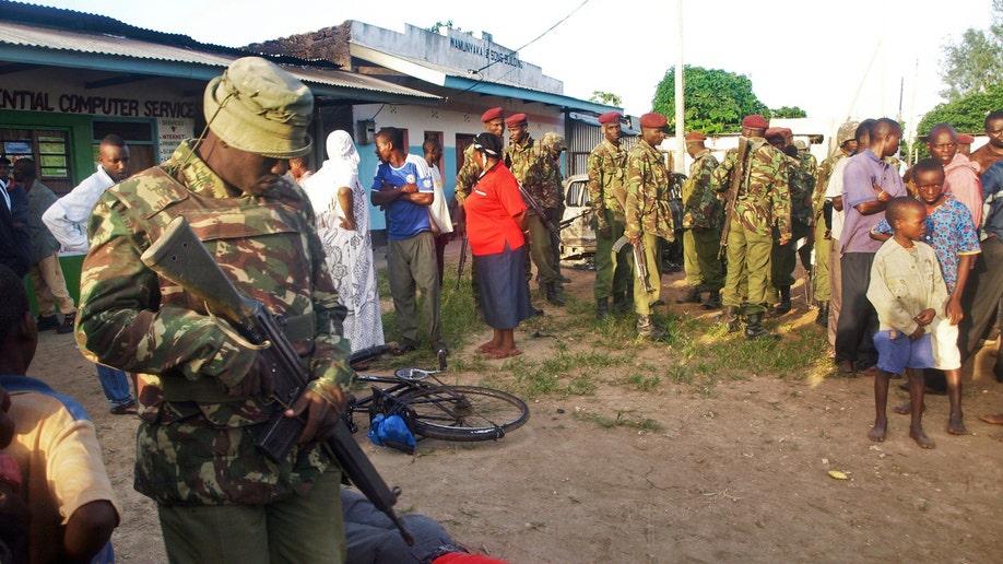 APTOPIX Kenya Hotel Attack