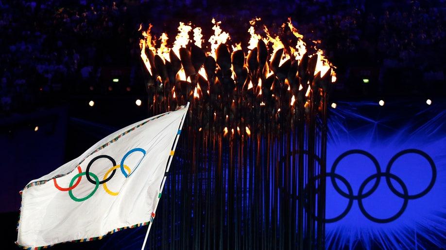 APTOPIX London Olympics Closing Ceremony