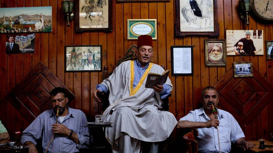 Once A Preserver Of A Traditional Art Famed Syrian Storyteller S Life Upended By War Fox News